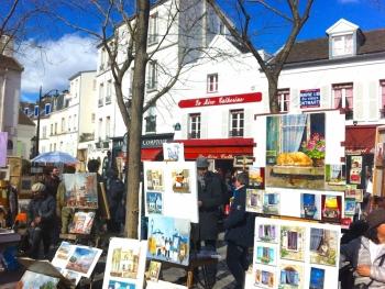 Монмарт в Париже фото