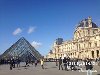 Пирамида Лувра 3ч
