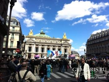 Опера Гарнье пешеходная экскурсия