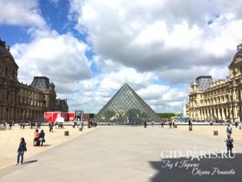 Пирамида Лувра пешеходная экскурсия