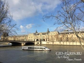 Река Сена пешеходная экскурсия