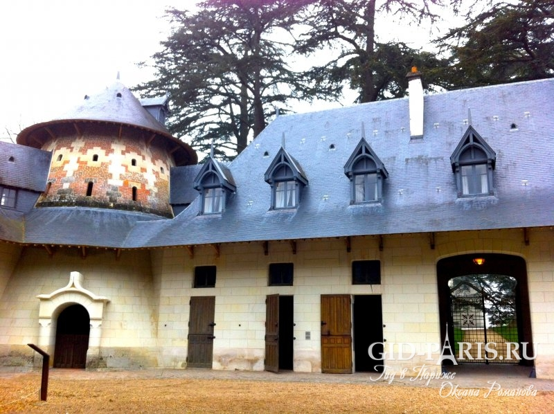замок шомон франция