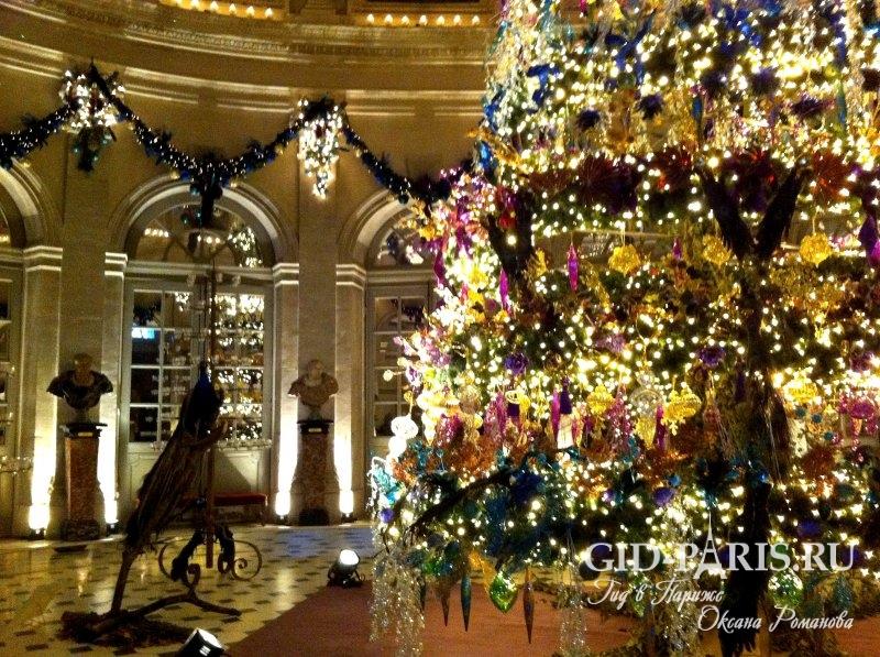 Париж Рождество