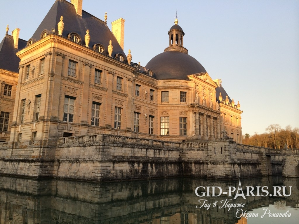 Дворец Во ле Виконт экскурсия