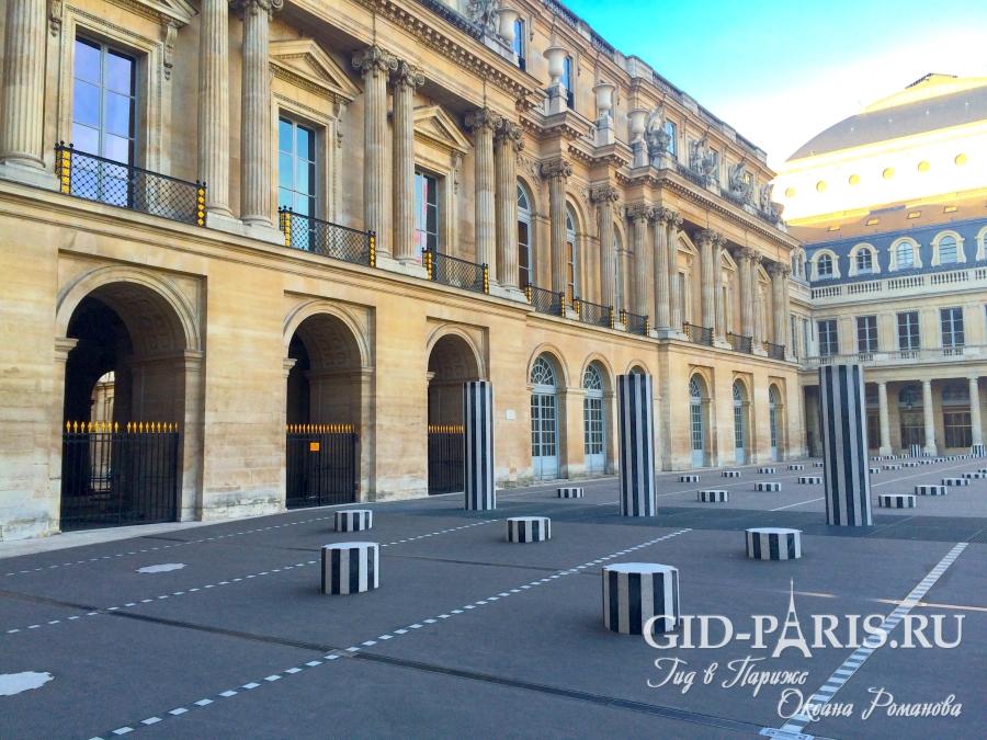 Пассажи Парижа - Пале Рояль