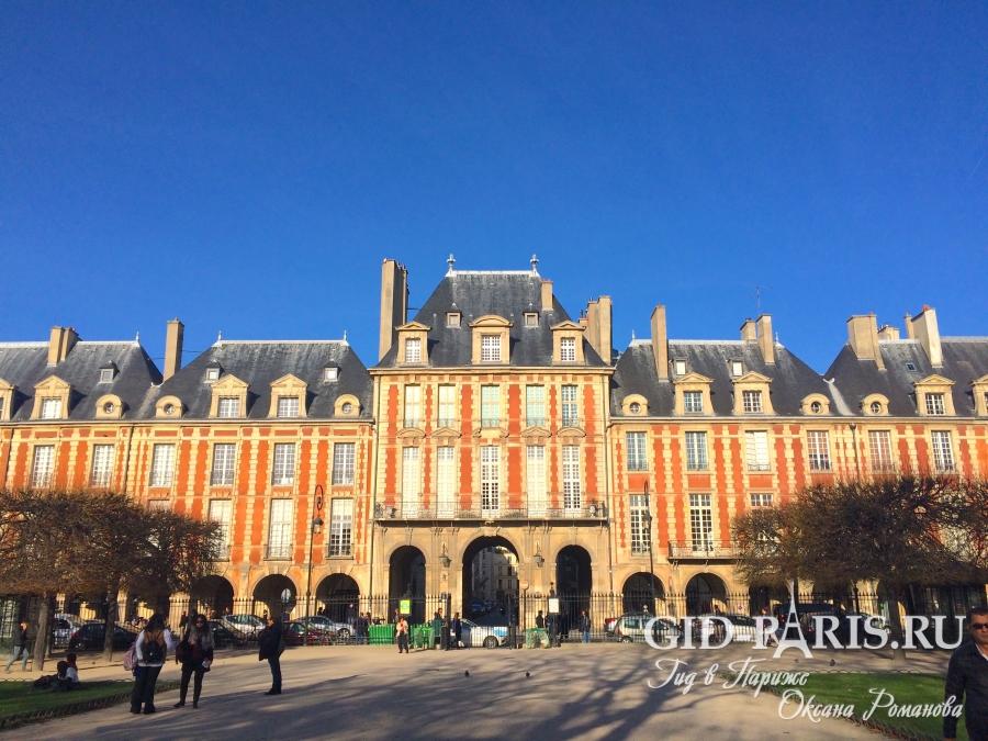 Квартал Маре в Париже