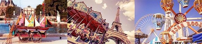 Париж для детей, Париж с детьми