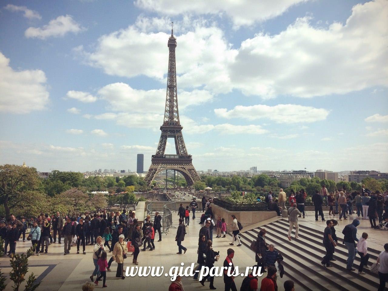 Париж экскурсии на русском языке