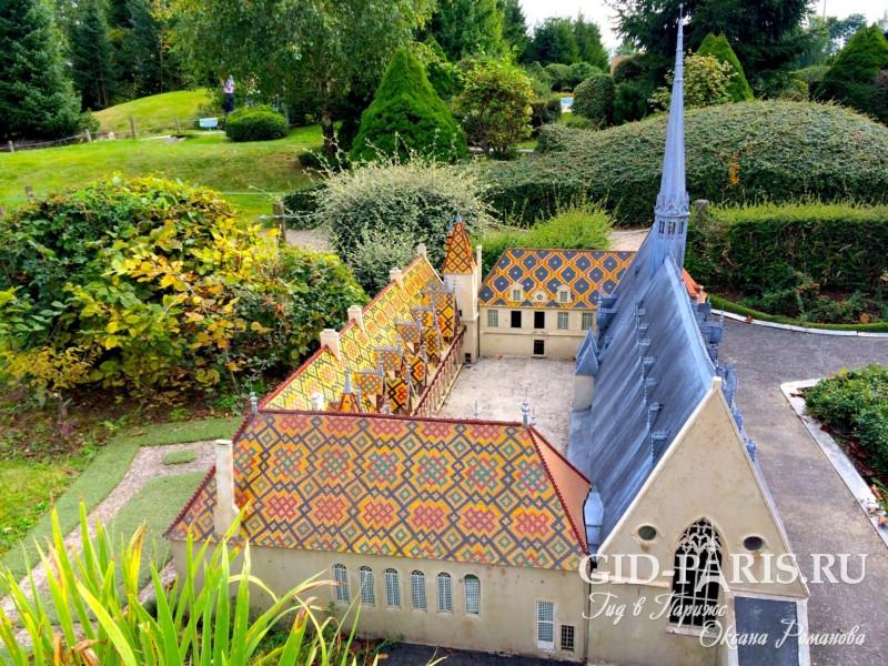 Парк Франция в миниатюре