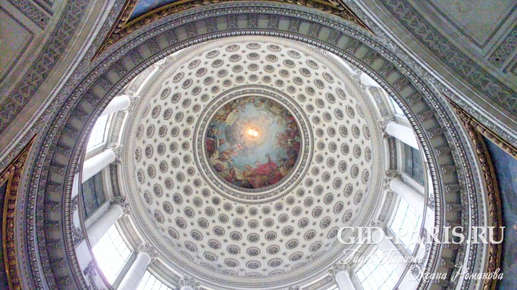 Купол Пантеона в Париже