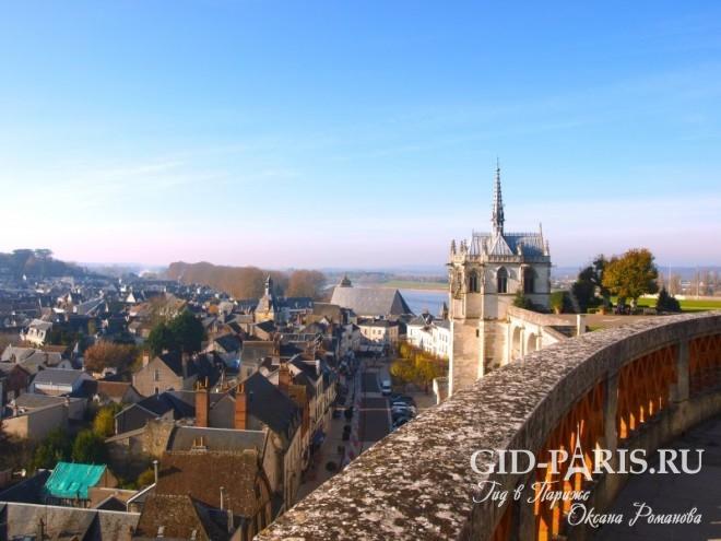 Замки Луары Франция