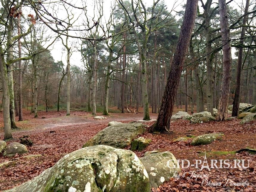 Деревня Барбизон - Франция