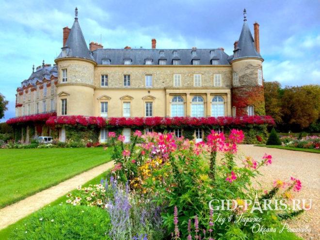 Дворцы Парижа и замки