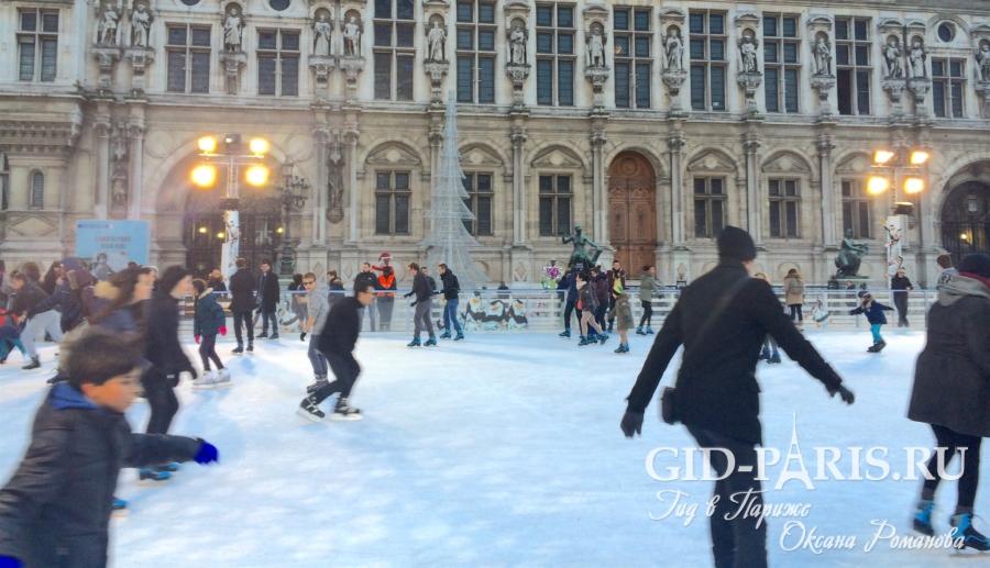 Экскурсии в Париже на Новый год