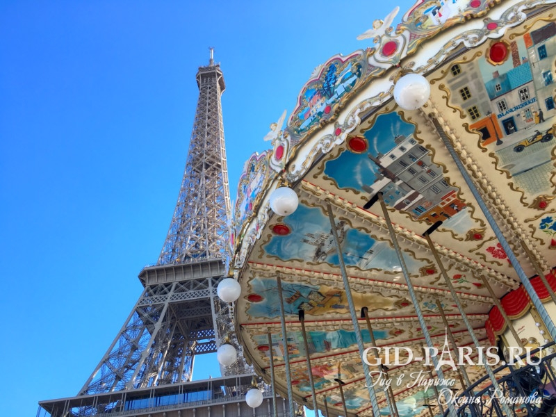Париж для детей