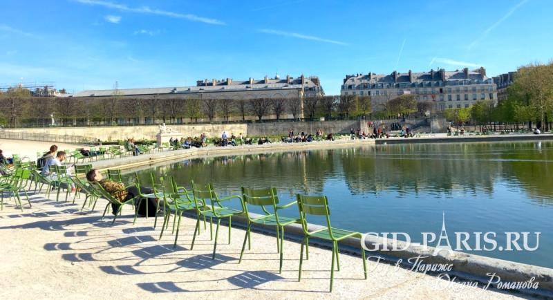 Париж ранней весной