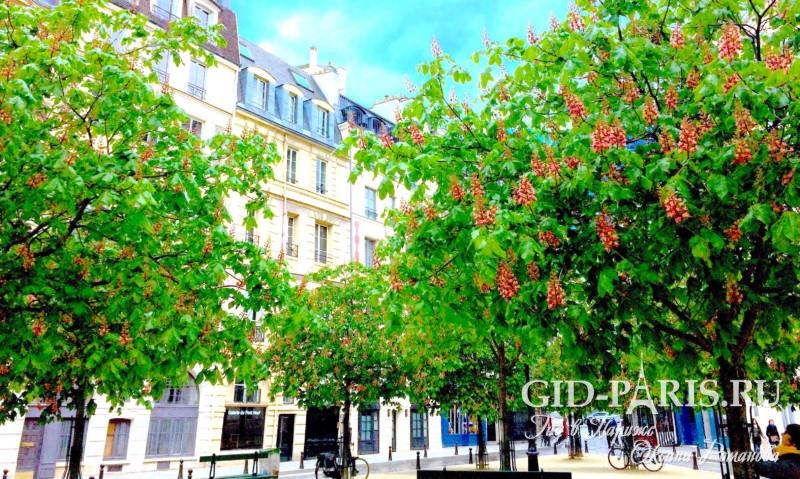 Весна в Париже, фото