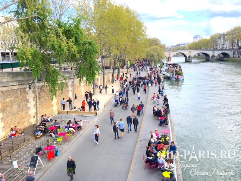 Весна в Париже фото