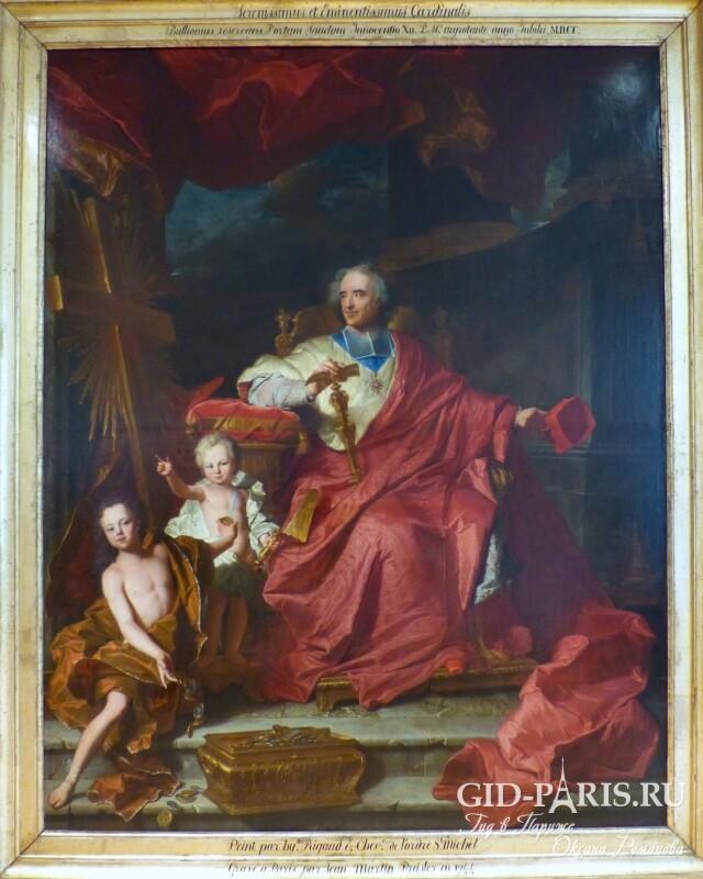 Риго портрет кардинала