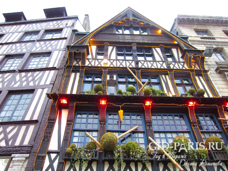 Регион Нормандия во Франции — экскурсия